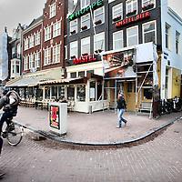 Nederland, Amsterdam , 21 november 2012..Café Hoppe aan het Spui is uitgeroepen tot café van het Jaar..Foto:Jean-Pierre Jans