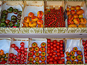 Tomatoes in Gordes in Provence, France.