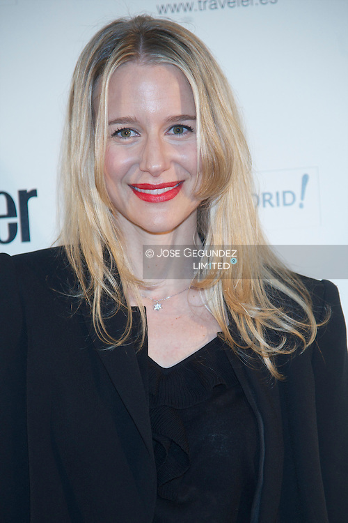 Maria Leon attend Conde Nast Traveler 2013 awards photocall at Cecilio Rodriguez garden on April 25, 2013 in Madrid, Spain.