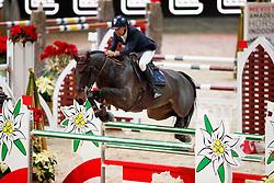 Vermeir Wilm, (BEL), IQ van het Steentje<br /> Mevisto Amadeus Horse Indoors - Salzburg 2016<br /> © Hippo Foto - Dirk Caremans<br /> 11/12/16