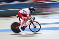 March 1, 2019 - Pruszkow, Poland - Wojciech Pszczolarski (POL) competes during the Men's Points Race at the UCI Track Cycling World Championships in Pruszkow on March 1, 2019. (Credit Image: © Foto Olimpik/NurPhoto via ZUMA Press)