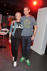 CHARLOTTE STOCKTING and BEN DAVEY at a party hosted by the Hello! magazine advertising department to celebrate 25 years of Hello! Magazine held at the London Film Museum, Covent Garden,London on 9th May 2013.