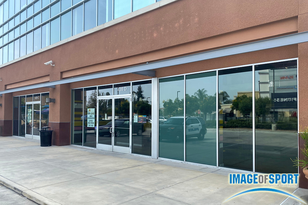 Vacant storefronts at the Monterey Park Mall amid the global coronavirus COVID-19 pandemic, Thursday, Sept. 17, 2020, in Monterey Park, Calif. .
