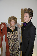 HENRY HOLLAND AND HIS MUM STEPHANIE, Gala performance of Night Of The Snow Queen, English National Ballet. Coliseum, London, WC2,pre performance party at  St Martins Lane Hotel, 45 St Martins Lane, London, WC2N 4HX. 12 December 2007. -DO NOT ARCHIVE-© Copyright Photograph by Dafydd Jones. 248 Clapham Rd. London SW9 0PZ. Tel 0207 820 0771. www.dafjones.com.
