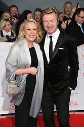 Jayne Torvill and Christopher Dean attending the National Television Awards 2018 held at the O2, London. Photo credit should read: Doug Peters/EMPICS Entertainment