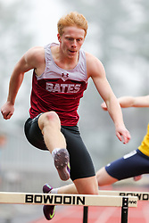 mens 400 hurdles, Bates, Maine State Outdoor Track & FIeld Championships
