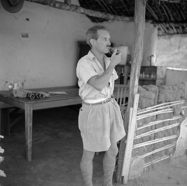 The Game Warden, Park Albert (now Virunga National Park), Belgian Congo (now Democratic Republic of the Congo), Africa, 1937