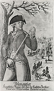 Charles-Francois du Perier Dumouriez (1739-1823) French Revolutionary; General in the French Revolutionary Army. Defected in 1793 and in 1804 settled in England. Engraving.