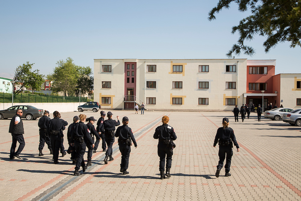 The Albanian Police academy in Sauk, Tirana, Albania. (RELEASED by official spokesman of the academy, to be enclosed directly to MC)<br /> <br /> Matt Lutton for the European Commission
