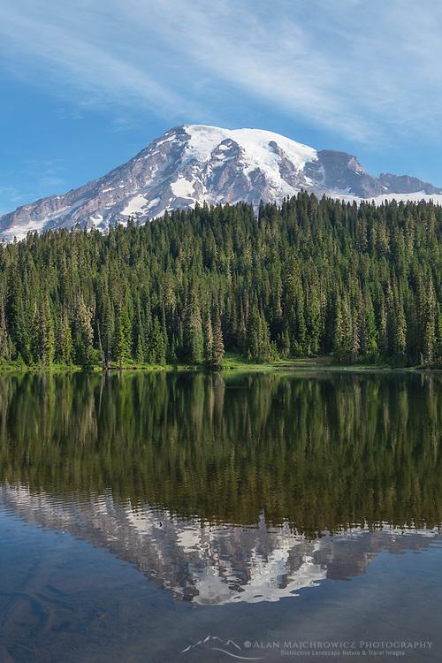 Reflection Lakes Mount Rainier National Park