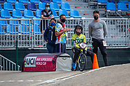 2021 UCI BMXSX World Cup<br /> Round 3 and 4 at Bogota (Colombia)<br /> Friday Practice<br /> ^we#93 STEVAUX CARNAVAL, Priscilla Andreia (BRA, WE) Shimano, Chase, Lead