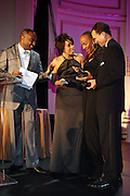 l to r: Reggie Van Lee, Renee Syler, Susan Taylor and Khepra Burns at The Fifth Annual Grace in Winter Gala honoring Susan Taylor, Kephra Burns, Noel Hankin and Moet Hennessey USA and benfiting The Evidence Dance Company held at The Plaza Hotel on February 3, 2009 in New York City.