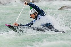 Zachary LOKKEN (USA) during Canoe Semi Finals at World Cup Tacen, 18 October 2020, Tacen, Ljubljana Slovenia. Photo by Grega Valancic / Sportida