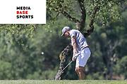 El entrenador y ex-jugador del F.C. Barcelona Pep Guardiola asiste a una edición del torneo Legends Trophy que se celebra cada año en el PGA Catalunya Resort. Girona.