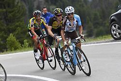 June 15, 2017 - Locarno / La Punt, Suisse - CARUSO Damiano (ITA) Rider of BMC Racing Team, KRUIJSWIJK Steven (NED) Rider of Team Lotto NL - Jumbo, POZZOVIVO Domenico (ITA) Rider of Team AG2R La Mondiale during stage 6 of the Tour de Suisse cycling race, a stage of 166 kms between Locarno and La Punt on June 15, 2017 in La Punt, Switserland, 15/06/2017 (Credit Image: © Panoramic via ZUMA Press)