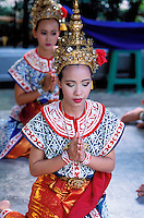 Thailande - <br /> Bangkok - Erawan Sanctuary - Thaî dance