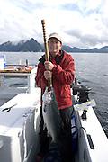 Salmon fishing, Sitka, Alaska<br />