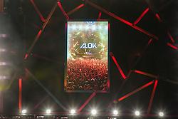 Alok durante a 25ª edição do Planeta Atlântida. O maior festival de música do Sul do Brasil ocorre nos dias 31 Janeiro e 01 de fevereiro, na SABA, praia de Atlântida, no Litoral Norte do Rio Grande do Sul. FOTO: <br /> Felipe Nogs/ Agência Preview