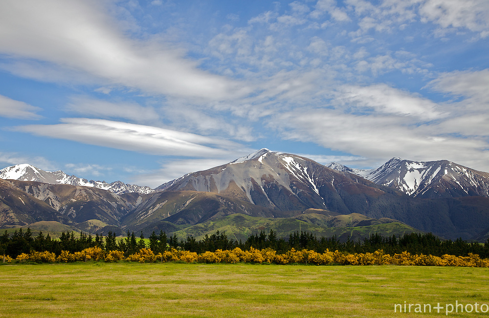 This picture of the Torlesse Range was made on a drive up into Arthur's Pass National Park. These ranges are located on the outskirts of Christchurch, New Zealand.