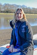 Putney, Greater London, United Kingdom.  2013 Women's University Trial Eights, Umpire, Sarah WINCKLESS   Thursday  19/12/2013 [Mandatory Credit; Peter Spurrier/Intersport-images]