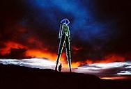 Burning Man, 1997. Black Rock Desert, Nevada. ©CiroCoelho.com. All Rights Reserved.