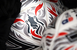 Close up of the official Fa Cup match ball before the Emirates FA Cup, third round match at the Vitality Stadium, Bournemouth.