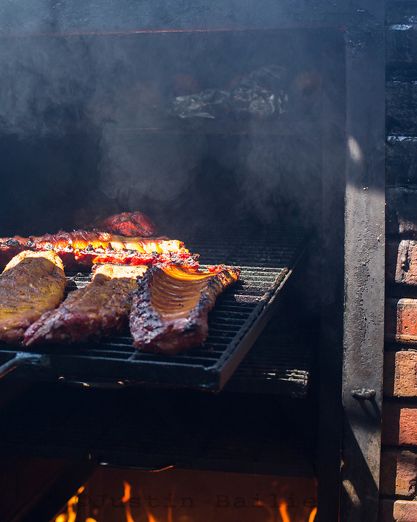 Woodyard BBQ in Kansas City, Kansas.