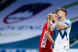 Miha Zajc of Slovenia during the UEFA Nations League C Group 3 match between Slovenia and Moldova at Stadion Stozice, on September 6th, 2020. Photo by Grega Valancic / Sportida