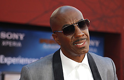 J. B. Smoove at the World premiere of 'Spider-Man Far From Home' held at the TCL Chinese Theatre in Hollywood, USA on June 26, 2019.
