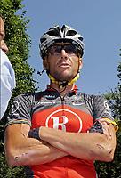 Sykkel<br /> Tour de France 2010<br /> 20.07.2010<br /> Foto: PhotoNews/Digitalsport<br /> NORWAY ONLY<br /> <br /> 11.04.2010<br /> 108ieme PARIS - ROUBAIX <br /> <br /> LANCE ARMSTRONG <br /> <br /> ETAPE 16 : BAGNERES-DE-LUCHON - PAU