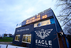 A general view of Godlington Road, home of Bedford Blues, ahead of England U20 v Italy U20 in the Under 20s Six Nations - Mandatory by-line: Robbie Stephenson/JMP - 08/03/2019 - RUGBY - Goldington Road - Bedford, England - England U20 v Italy U20 - Six Nations U20