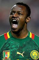 Football Fifa Brazil 2014 World Cup / <br /> Cameroon National Team - <br /> Aboubakar OUMAROU of Cameroon