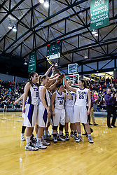 25 January 2014: 103rd McLean County Tournament.  Tremont Turks v El Paso Gridley Titans Girls Championship Game at Shirk Center, Bloomington Illinois