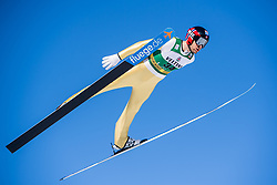 March 2, 2018 - Lahti, FINLAND - 180302 Magnus Hovdal Moan of Norway during a Ski jumping training session ahead of the FIS Nordic Combined World Cup on March 02, 2018 in Lahti. .Photo: Fredrik Varfjell / BILDBYRN / kod FV / 150068 (Credit Image: © Fredrik Varfjell/Bildbyran via ZUMA Press)