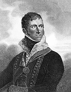 Henry William Paget, Ist Marquis of Anglesey: English soldier; served in Flanders (1794) Holland (1799) Peninsular War (1808) Commander of British cavalry at Waterloo where he lost a leg. Stipple engraving London 1815.