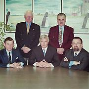 NLD/Amsterdams/19980409 - Oranjestichting Huizen met Gert-Jan Visser, Carl Bikkers, van Willigenburg, Jan Plat, Frits Groenewoud