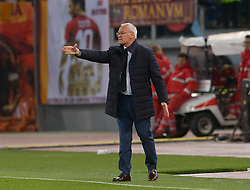 May 12, 2019 - Rome, Italy - Claudio Ranieri during the Italian Serie A football match between A.S. Roma and Juventus at the Olympic Stadium in Rome, on may 12, 2019. (Credit Image: © Silvia Lore/NurPhoto via ZUMA Press)
