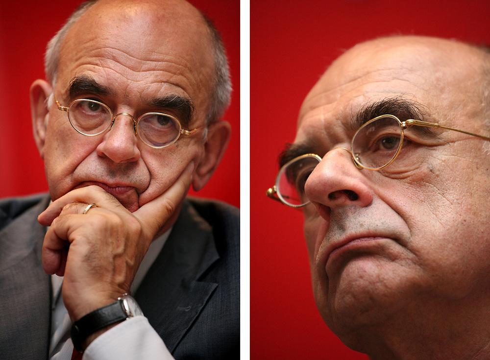 Jan Pronk, politicus (PvdA) // Jan Pronk, Labour Party politician.