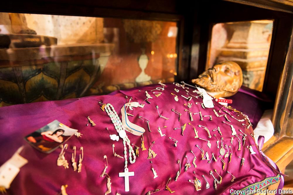 Prayers of hope pinned on Saint Francis