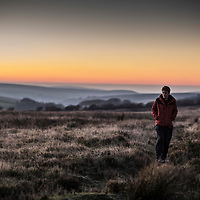 Walking the trails on Exmoor in Somerset