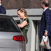 NLD/Amsterdam/20140625 - Opening Waldorf Astoria hotel Amsterdam, prinses Margarita