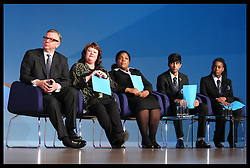 Education Secretary Michael Gove  speech  at the Conservative Party Conference in Birmingham, Tuesday, 9th October 2012. Photo by: Stephen Lock / i-Images