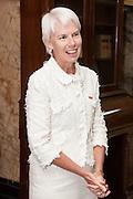 Gail Kelly, Westpac CEO celebrates contract win, Westpac, Sydney, Australia.