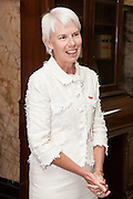 Gail Kelly, Westpac CEO celebrates contract win, Westpac, Sydney, Australia.