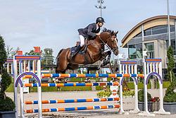 Sonneveld Mitchel, NED, Jodelahity<br /> Nationaal Kampioenschap KWPN<br /> 6 jarigen springen final<br /> Stal Tops - Valkenswaard 2020<br /> © Hippo Foto - Dirk Caremans<br /> 19/08/2020