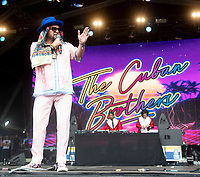 The Cuban Brothers at Camp Bestival 2021, Lulworth Castle photo by Brian Jordan