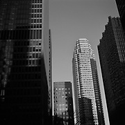TD Bank Towers, BCE Place and Royal Bank Tower seen from Wellington Street West in Toronto's Financial District..(Credit Image: © Louie Palu/ZUMA Press)