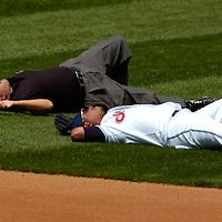 MLB: Texas at Cleveland, 8.18.05