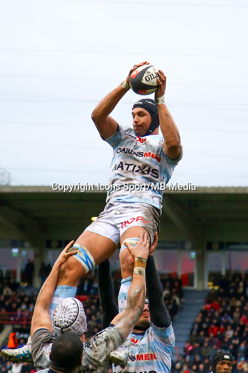 Juandre Kruger - 28.12.2014 - Toulouse / Racing Metro - 14eme journee de Top 14 <br /> Photo :  Manuel Blondeau / Icon Sport