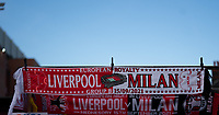 Football - 2021 / 2022 UEFA Champions League - Group B, Round One - Liverpool vs AC Milan - Anfield - Wednesday 15th September 2021<br /> <br /> <br /> <br /> Match day scarf<br /> <br /> <br /> Credit COLORSPORT/Terry Donnelly